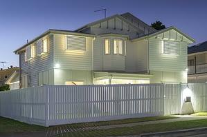 a newly-built home